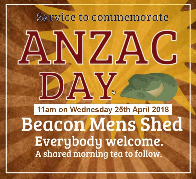 ANZAC day 2018 promotional illustration