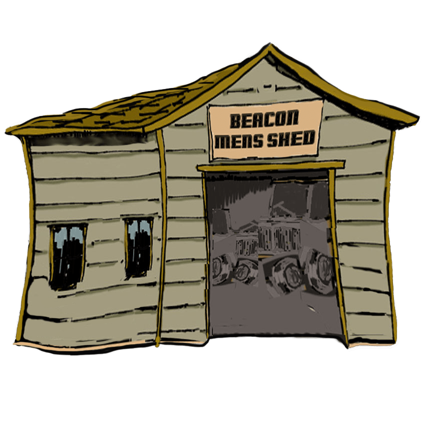 Beacon Mens Shed logo illustration