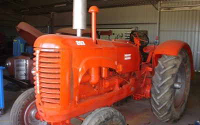 Massey Harris Restored