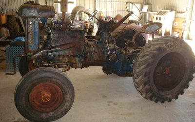 Restored Fordson Tractor