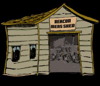 Beacon Mens Shed logo illustration